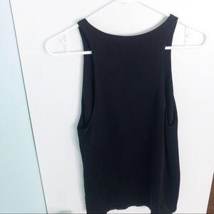Aritzia Wilfred Free Black Dressy Tank Top Size XS